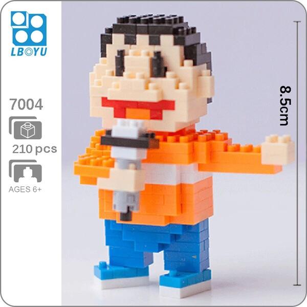 BOYU 7004 Konta Takeshi In Series Stand By Me Doraemon Mini Bricks