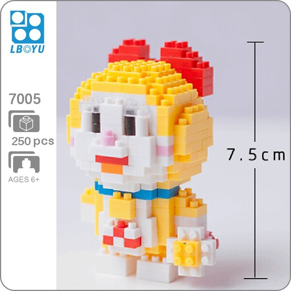 BOYU 7005 Doraemi In Series Stand By Me Doraemon Mini Bricks