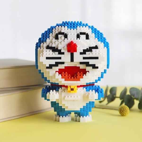 BOYU 7097 Doraemon Hold Dorayaki Mini Bricks