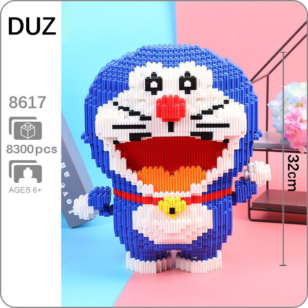 DUZ 8617 Doraemon Mini Bricks