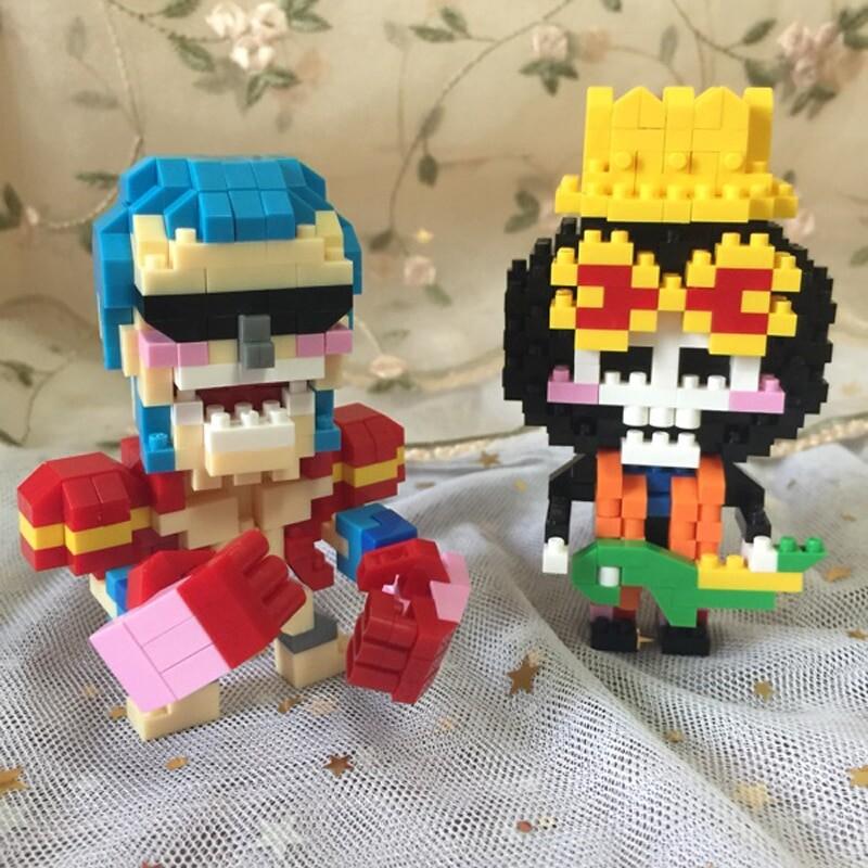 SC 040-048 One Piece Pirate Warriors Cute Brickheadz
