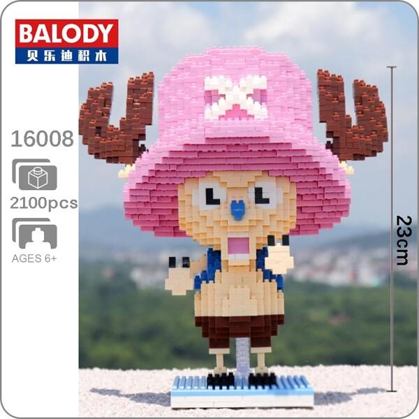 BALODY 16008 Tony Chopper One Piece Brickheadz