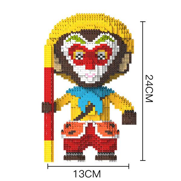 HC 9881 Journey To The West Monkey King Brickheadz