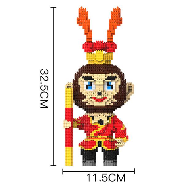 HC 9882 Journey To The West Sun Wukong Brickheadz