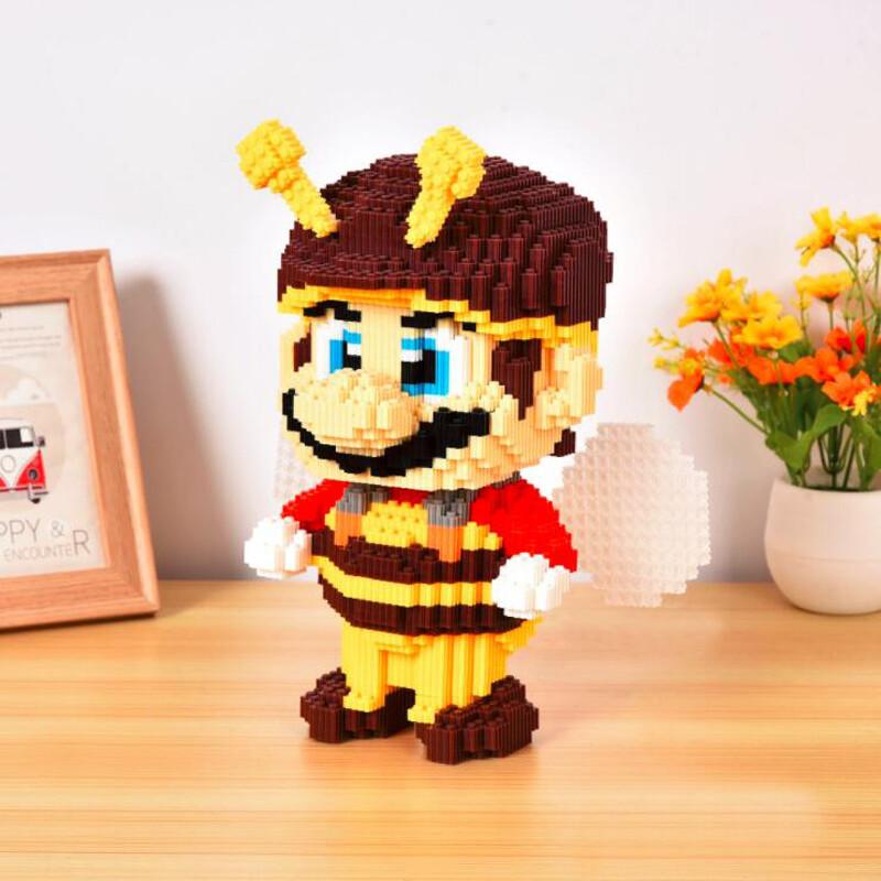 DUZ 8626 Super Mario Bee Mario Brickheadz