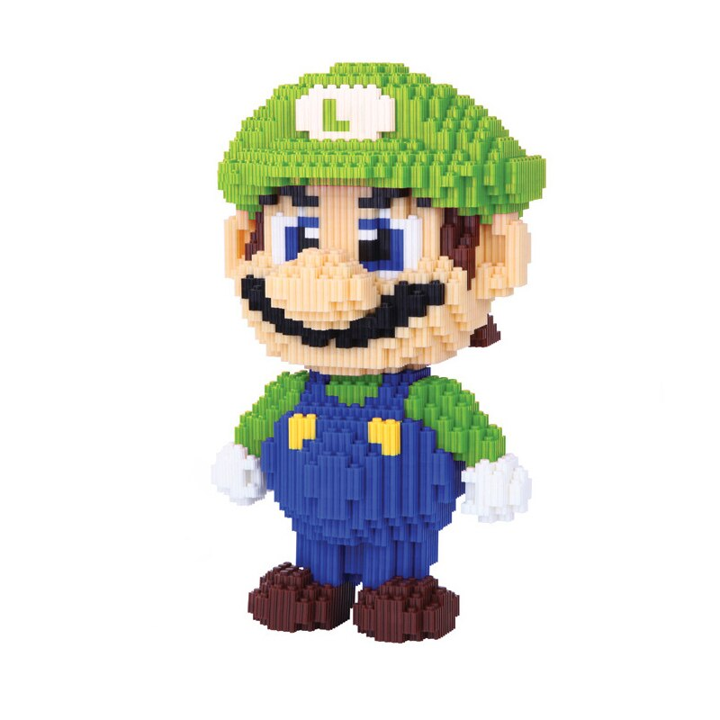 DUZ 8622 Super Mario Big Luigi Bricksheadz