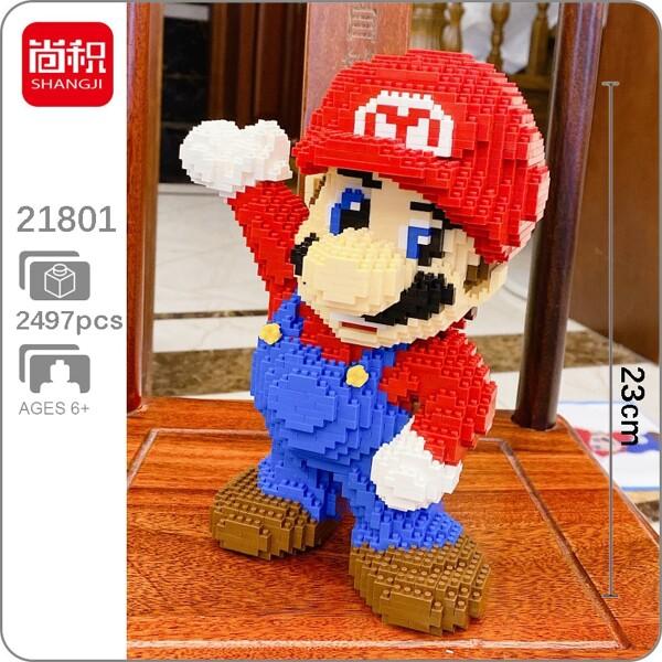 SHANGJI 21801 Super Mario Red Mario Brickheadz