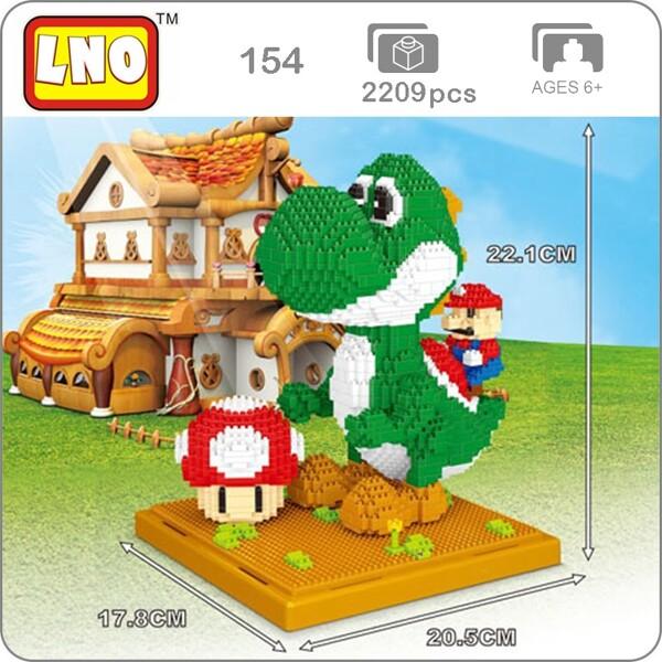 LNO 154 Super Mario Yoshi Monster Brickheadz