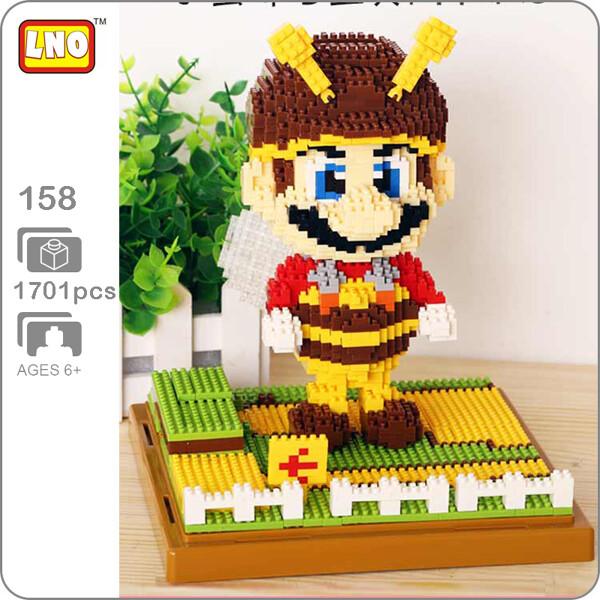 LNO 158 Super Mario Bee Brown Brickheadz