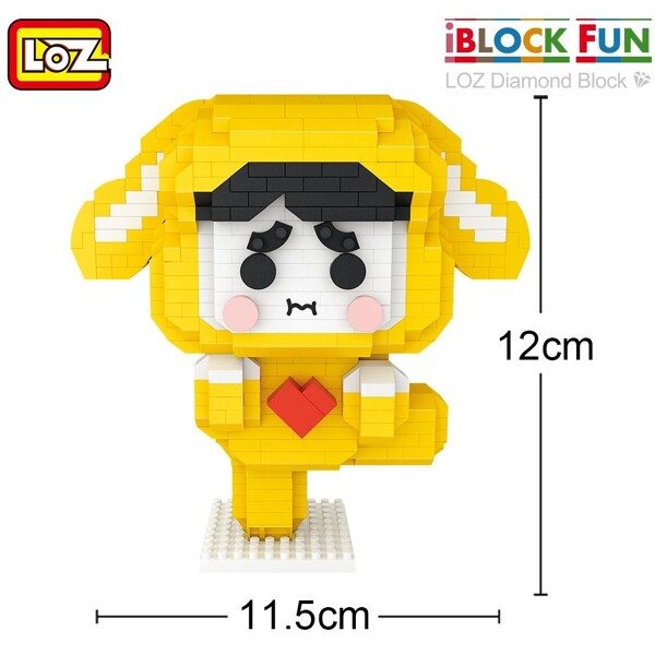 LOZ 9237 Lucky Dog Brickheadz