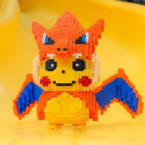 BALODY 16170 Charizard Pikachu Brickheadz
