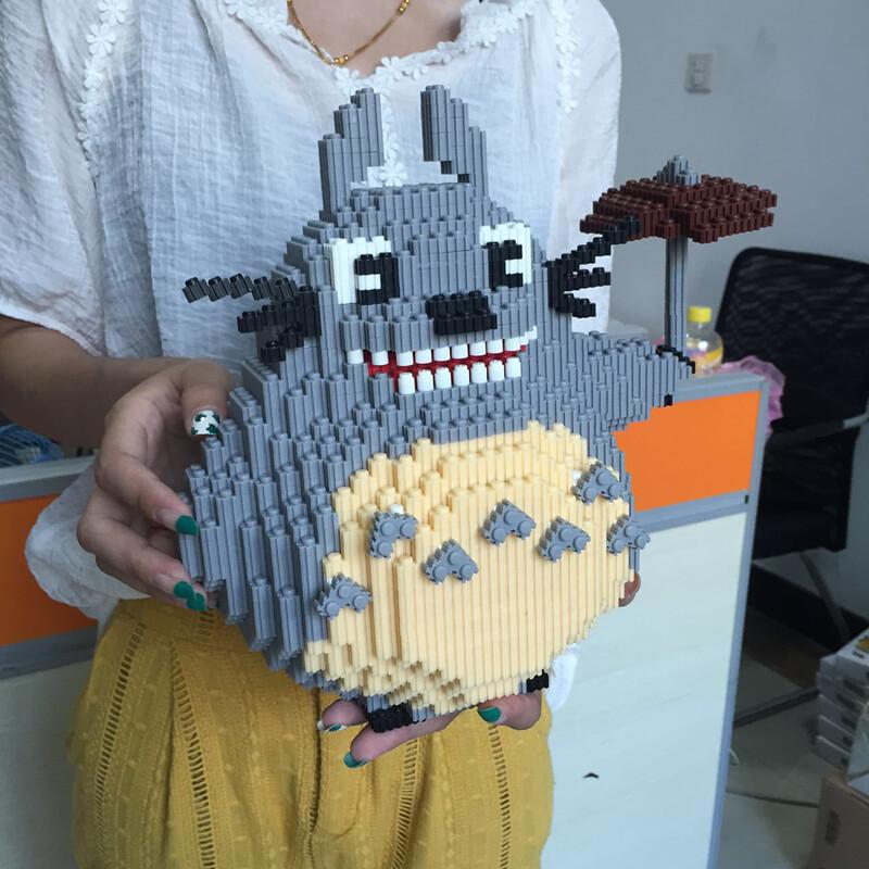 DUZ 8619 Totoro Brickheadz