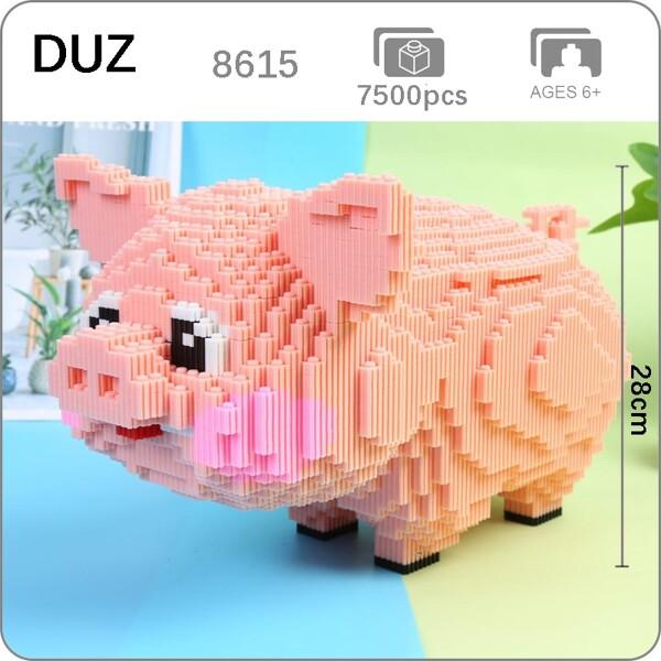 DUZ 8615 Cute Pink Pig Brickheadz