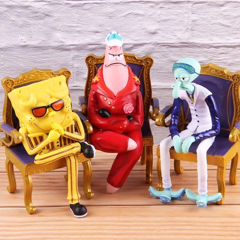 SC 111 112 113 One Piece Admirals Spongebob Bundle ...