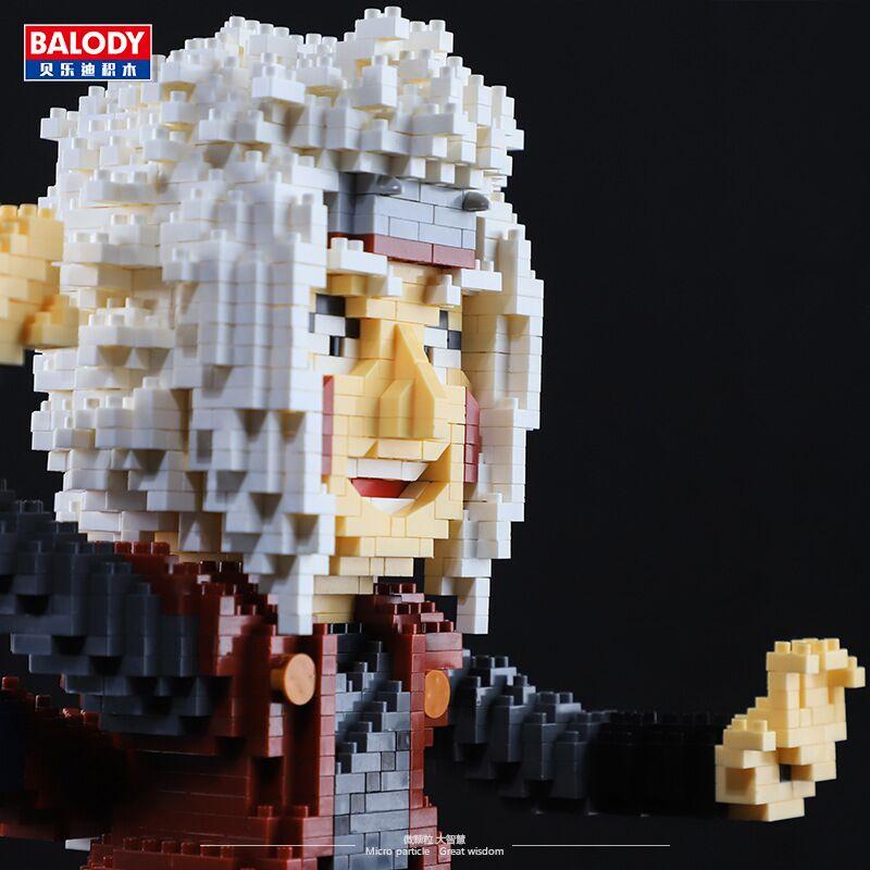 BALODY 16165 Master Jiraiya Ninja Brickheadz