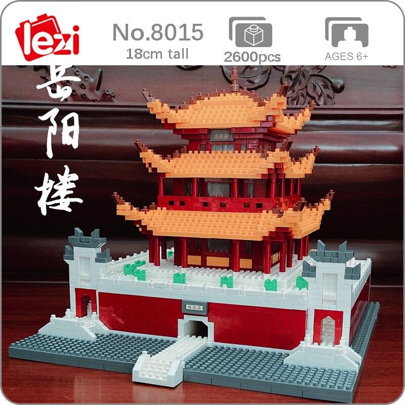 LEZI 8015 The Yueyang Tower Brickheadz