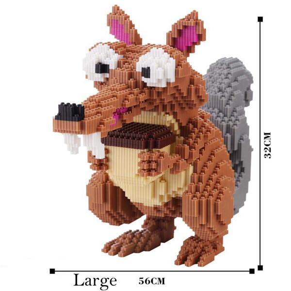 GPKSTAR 6709 Squirrel Nibble Oak Brickheadz