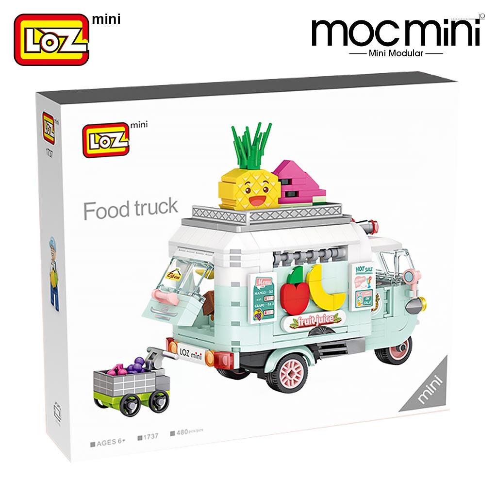 LOZ 1737 1738 Dessert Model Set Brickheadz