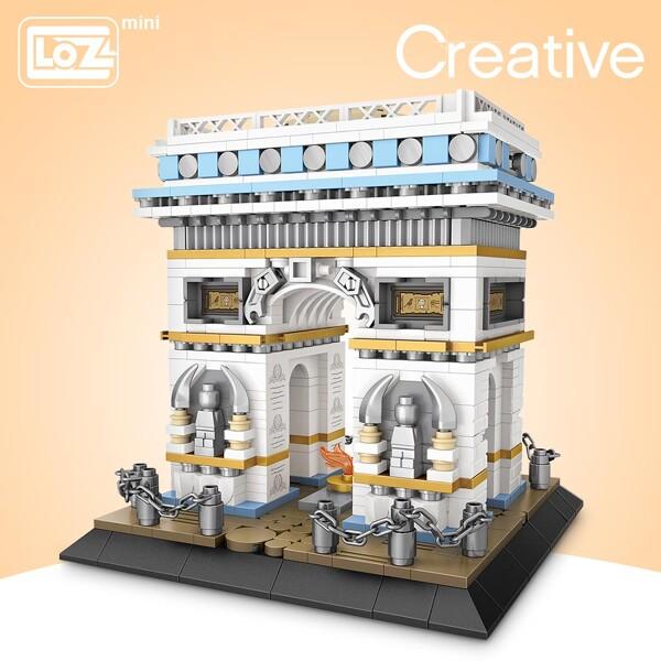 LOZ 1028 Arc De Triomphe Brickheadz