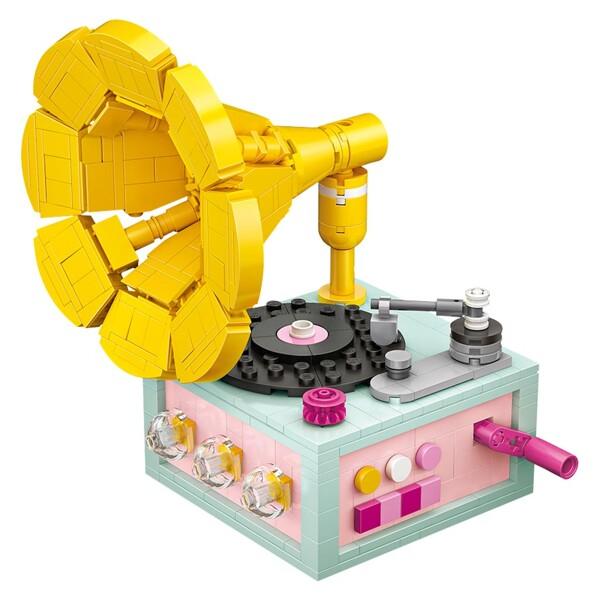 LOZ 1123 Phonograph Brickheadz