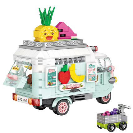LOZ 1737 Fruit Car Brickheadz