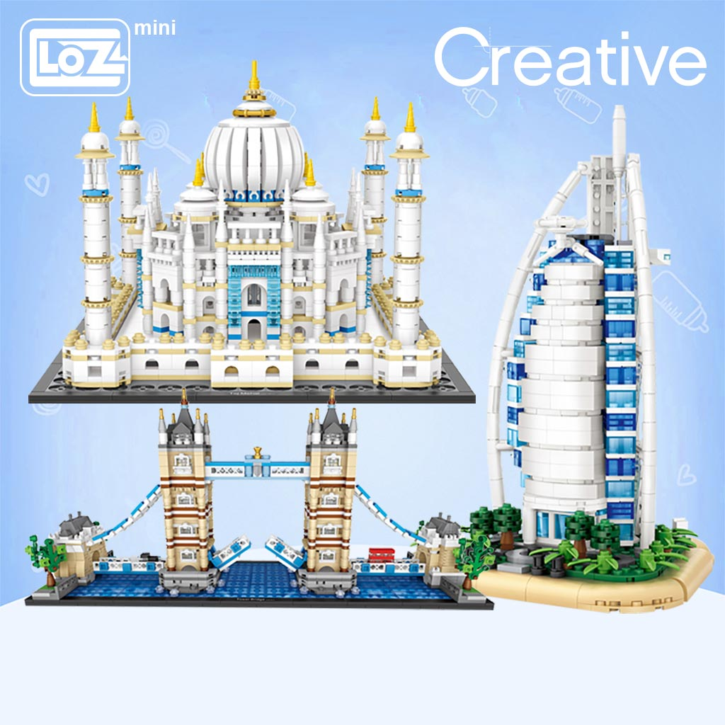 LOZ 1026-1029 Architecture Series Bundles