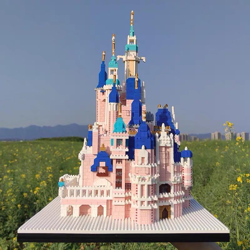 PIMPIMSKY 7822 Amusement Park Brickheadz
