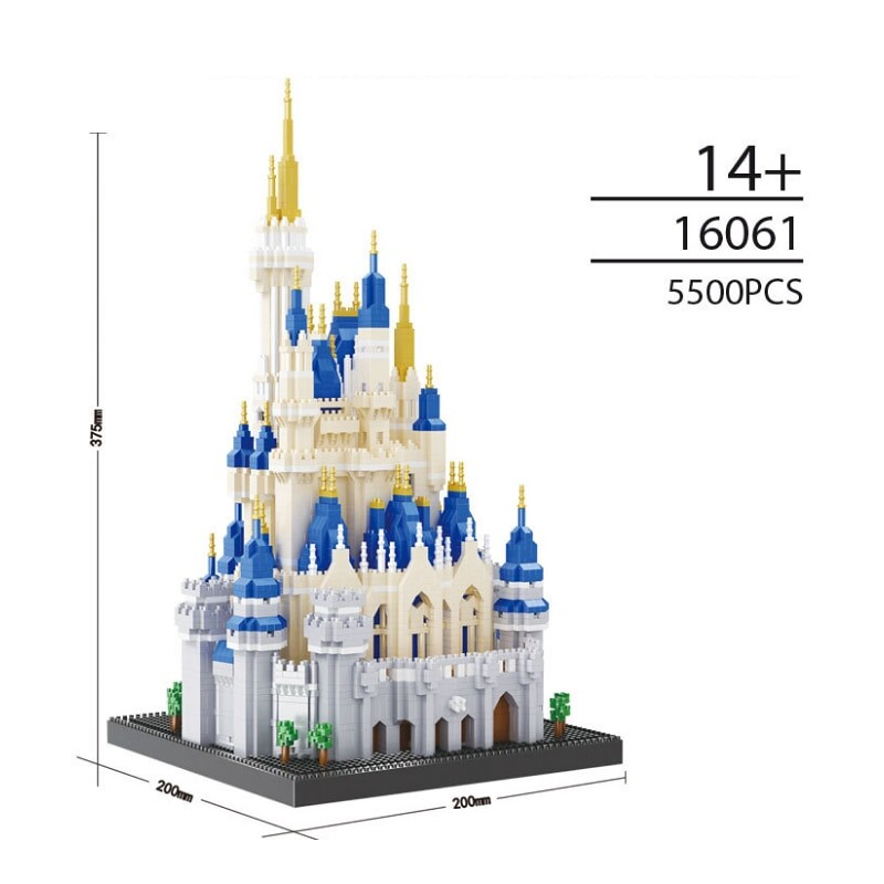 OFENG 16061 Castle Diamond Brickheadz