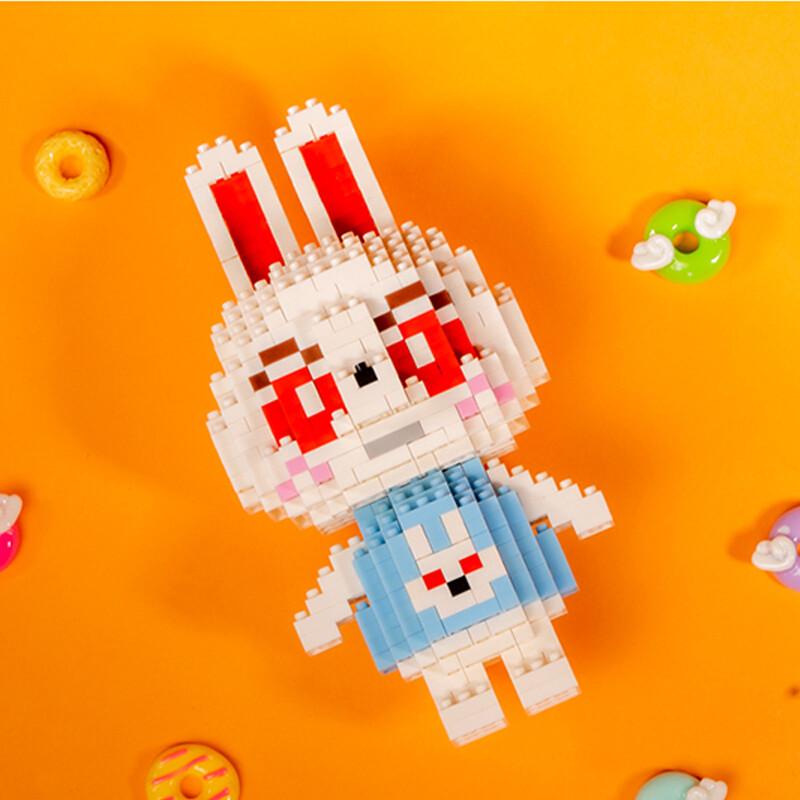 SC 4010-17 Crossing Rabbit Ruby Brickheadz