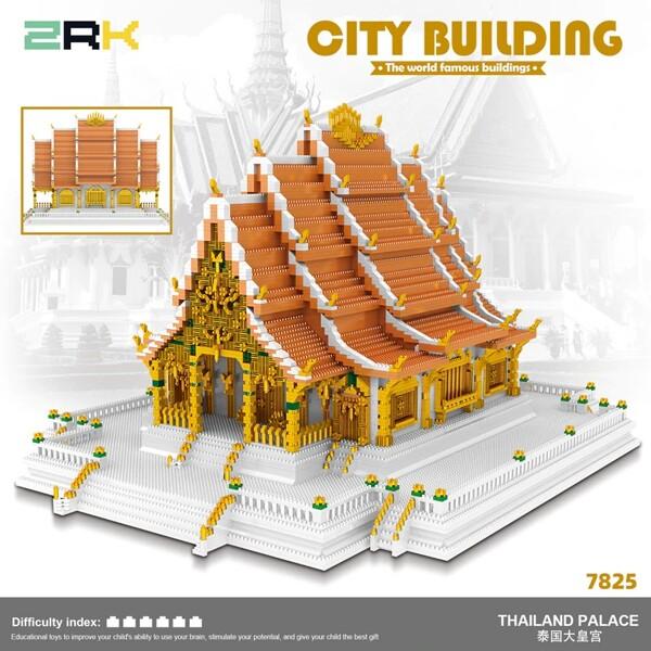 ZRK 7825 Bangkok Grand Palace Brickheadz