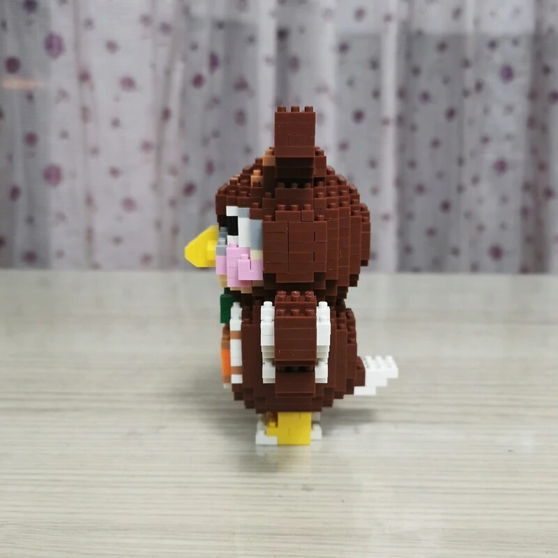 SC 4010-8 Crossing Owl Bird Blathers Brickheadz