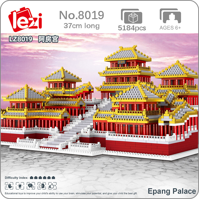 LEZI 8019 Epang Palace Brickheadz