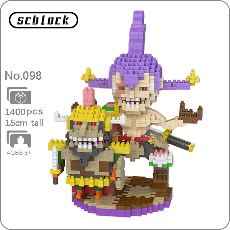 SC 098 Charlotte Cracker Pirate Brickheadz