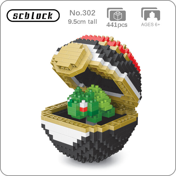 SC 302 Luxury Ball Bulbasaur Brickheadz