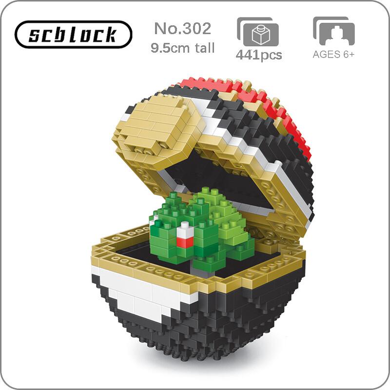 SC 302 Luxury Ball Bulbasaur Brickheadz