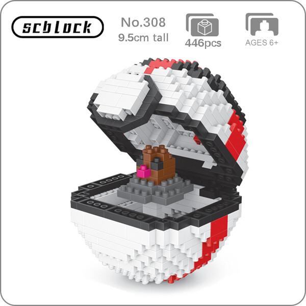 SC 308 Timer Ball Diglett Brickheadz