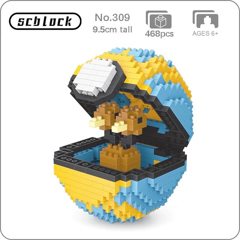 SC 309 Quick Ball Doduo Bird Brickheadz