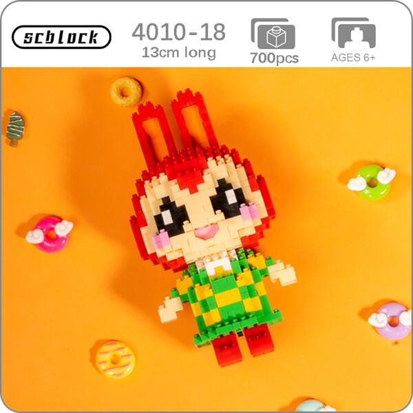SC 4010-18 Crossing Rabbit Bunnie Brickheadz