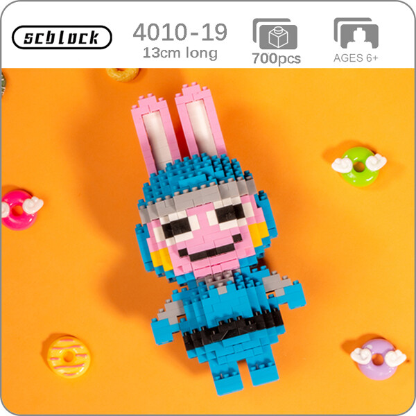 SC 4010-19 Crossing Rabbit Snake Brickheadz
