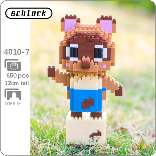 SC 4010-7 Crossing Raccoon Timmy Tommy Brickheadz