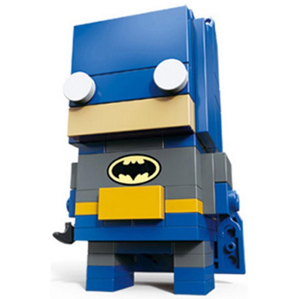 LOZ 6801-6818 Rocky Wonder Woman Iron Man Robin Spiderman Thor Superhero Brickheadz