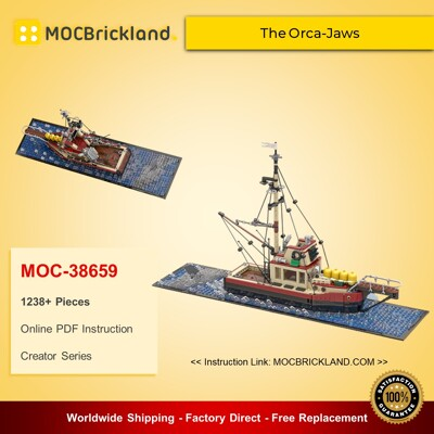 Creator MOC-38659 The Orca-Jaws By Arconoide MOCBRICKLAND