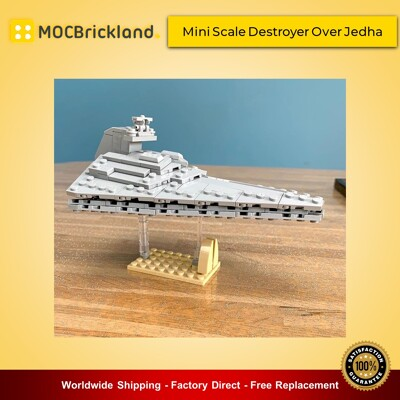 Star Wars MOC-47569 Mini Scale Destroyer Over Jedha