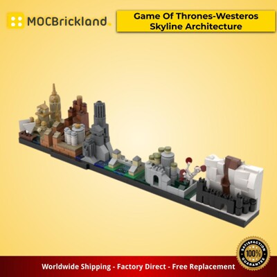 Architecture moc-18016 game of thrones-westeros skyline architecture by momatteo79 mocbrickland