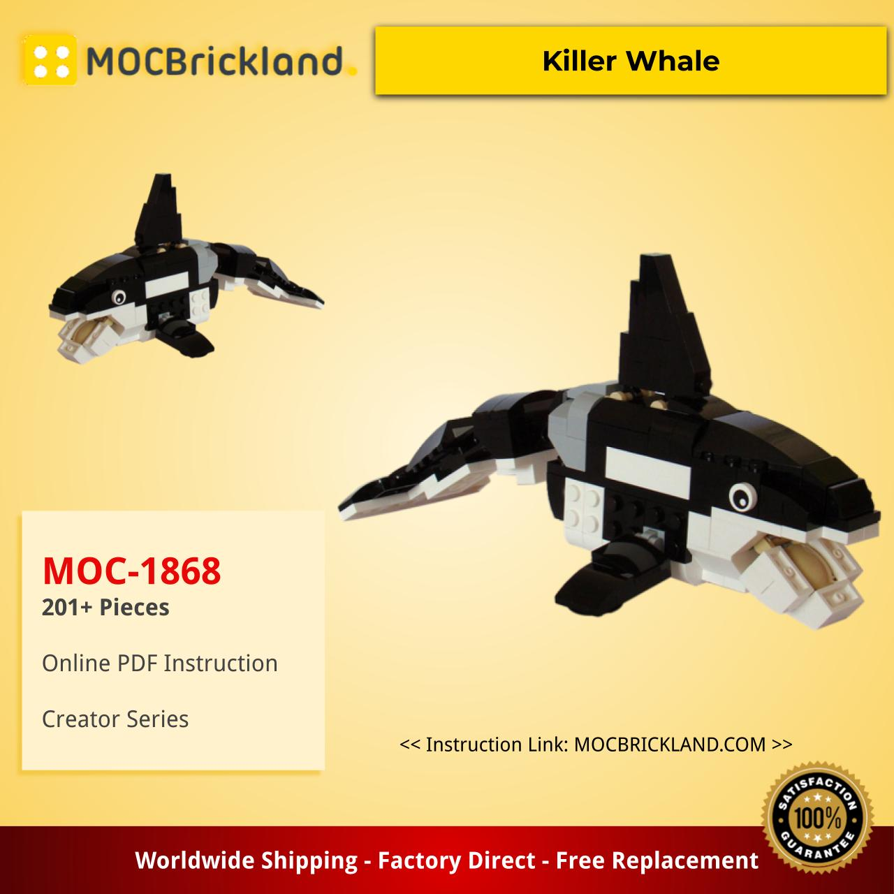 Creator MOC-1868 31021: Killer Whale by Tomik MOCBRICKLAND