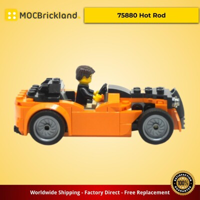 Creator moc-9037 75880 hot rod by peterszabo mocbrickland