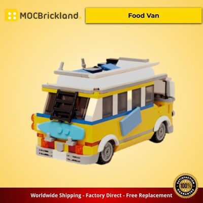 Creator MOC-16318 Surfer's Food Van by timeremembered MOCBRICKLAND