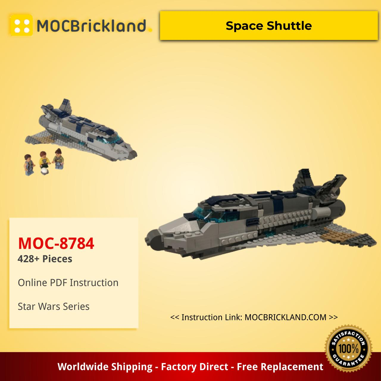 Star wars moc-8784 space shuttle by tomik mocbrickland