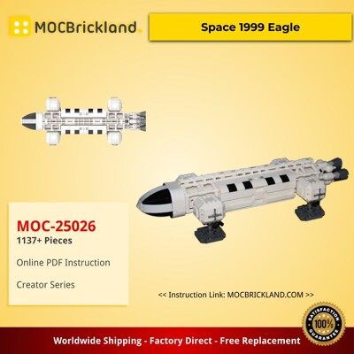 Creator MOC-25026 Space 1999 Eagle by divinglog MOCBRICKLAND