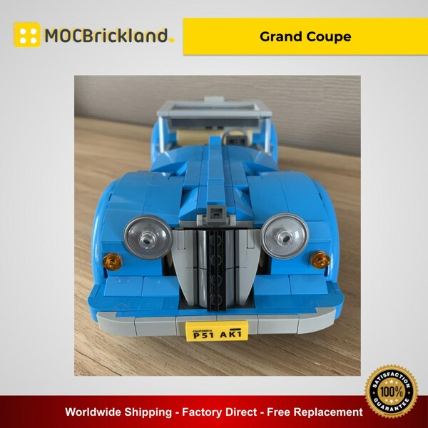 Creator moc-35073 10252 grand coupe by keep on bricking mocbrickland